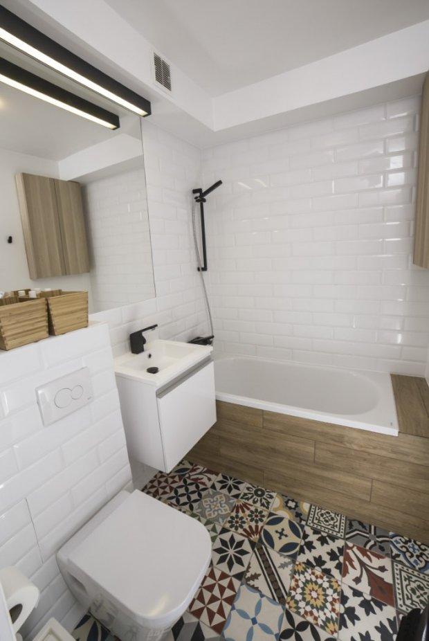 Łazienka po metamorfozie, aranżacja łazienki