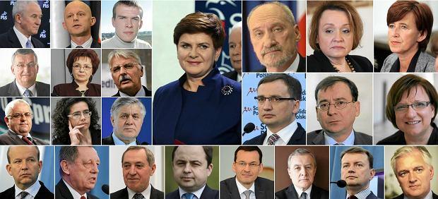 Skład rządu Beaty Szydło. Oto nowi ministrowie PiS [SYLWETKI]