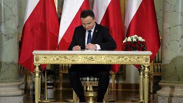 Prezydent Andrzej Duda podpisał nowelizację ustawy o Trybunale Konstytucyjnym