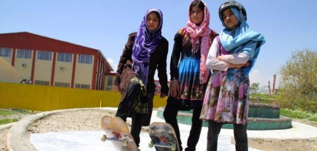 Jedno ze zdjęć promujących organizację Skateistan