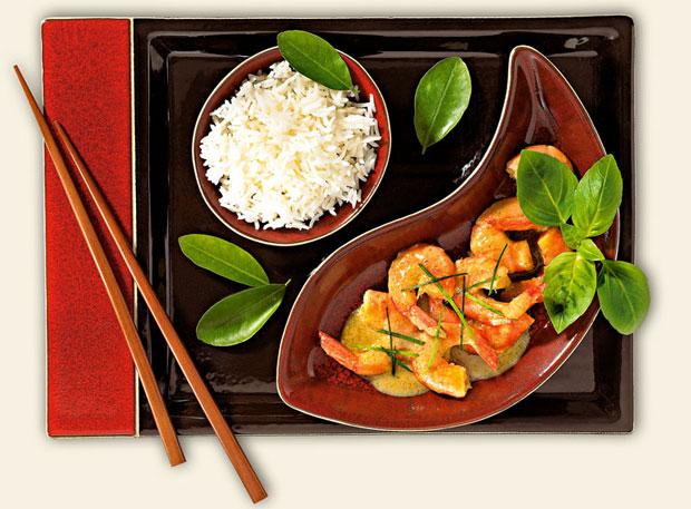 kuchnia, kuchnie świata, Kuchnia: jak hinduskie curry podbiło świat, Tajskie zielone curry z owocami morza