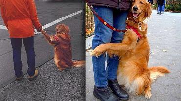 Kiedyś Louboutina lubiła na spacerach trzymać się 'za ręce'. Teraz jest fanką przytulania