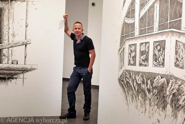 Jakub G�az, kurator wystawy w CK Zamek: Poka� mi sw�j balkon, a powiem ci kim jeste� [ROZMOWA]
