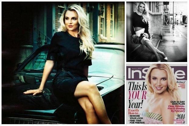 """Britney Spears gwiazd� styczniowego """"InStyle"""" - zn�w wr�ci na szczyt? Zobaczcie pierwsz� od dawna sesj� zdj�ciow� gwiazdy"""