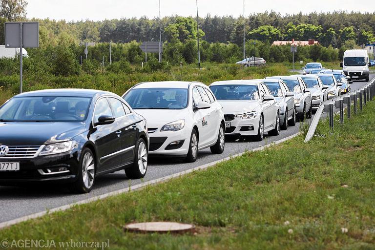 01.07.2016 Lodz , testowanie obwodnicy / autostrady A1 po otwarciu .