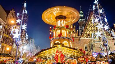 Jarmark Bożonarodzeniowy odbywa się we Wrocławiu od 10 lat