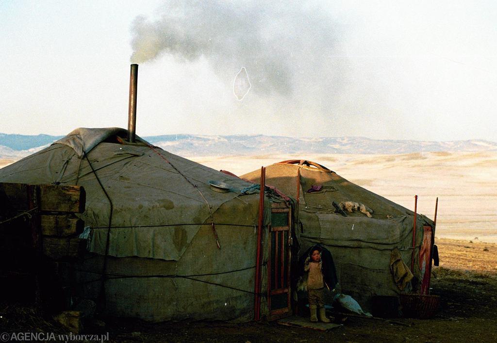 Jurta w Mongolii