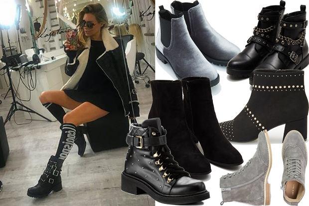 862405a42ad5a Te buty są modne i dużo wygodniejsze od kozaków za kolano. Mnóstwo ...