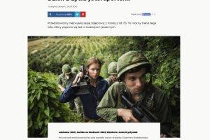 Kontrowersyjna sesja modowa z wojn� w Wietnamie w tle. Czy polski portal posun�� si� za daleko? [KOMENTARZ]