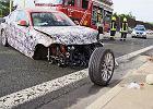 Przedwczesny crashtest | Wypadek prototypu BMW serii 2