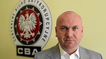 Paweł Wojtunik jako szef CBA. Po wygranych przez PiS wyborach musiał odejść ze stanowiska