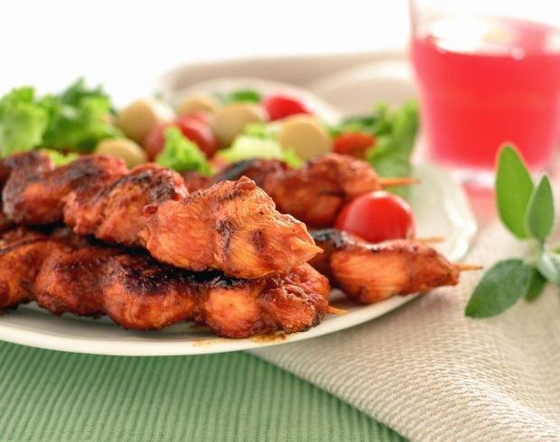 Szasz�yki z kurczaka w menu dnia