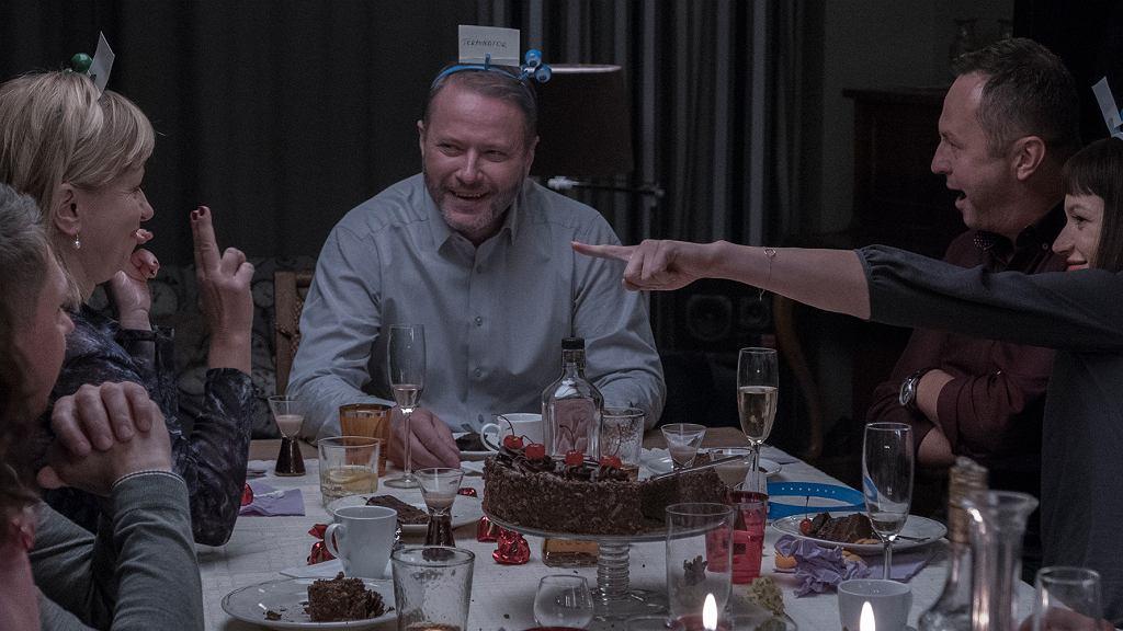 Kadr z filmu 'Atak paniki'. Dorota Segda, Artur Żmijewski i Andrzej Konopka / mat. prasowe