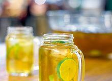Poncz z zielonej herbaty i limonki (bezalkoholowy) - ugotuj
