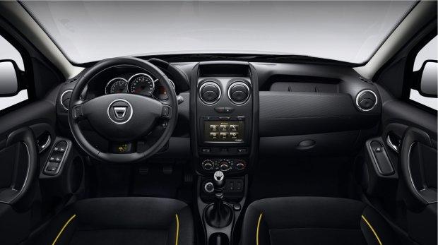 Dacia Duster wnętrze