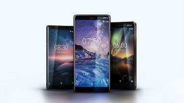 Nokia 8 Sirocco, Nokia 7 Plus i Nokia 6 (2018)