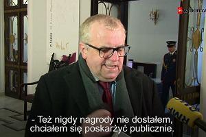 Adam Lipiński skarżył się, że nie dostał nagrody. Wiceprezes PiS zapomniał o ponad 50 tys. zł?