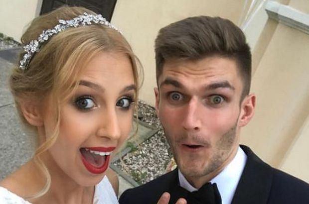 Ślub Karola Kłosa i Aleksandry Dudzickiej