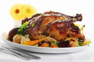 Pieczony kurczak. Kruche mięso idealnie doprawione