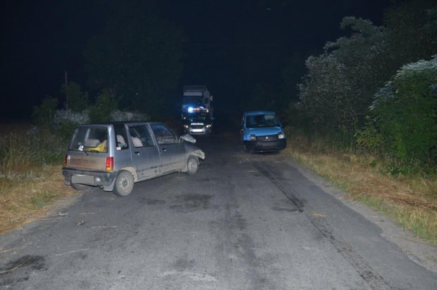 Pijany 17-latek za kierownic� spowodowa� wypadek