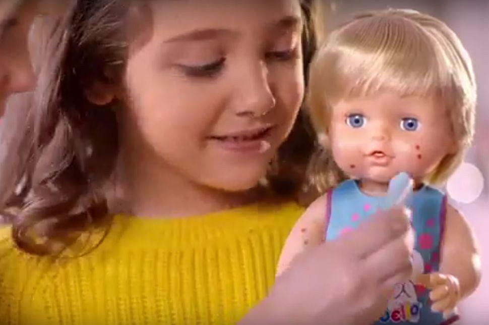 Ta lalka choruje na odrę