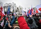 Gorąca niedziela - manifestacje w Warszawie i Krakowie