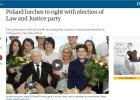 """""""The Guardian"""": Polska skręca w prawo, PiS nieufny wobec Unii i Niemiec"""