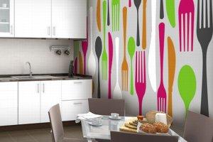 Tapety do kuchni - wzory na dobry apetyt