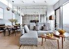Wn�trza: apartament w  wie�owcu Cosmopolitan w Warszawie
