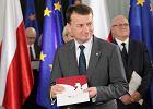 Minister spraw wewn�trznych i administracji Mariusz B�aszczak