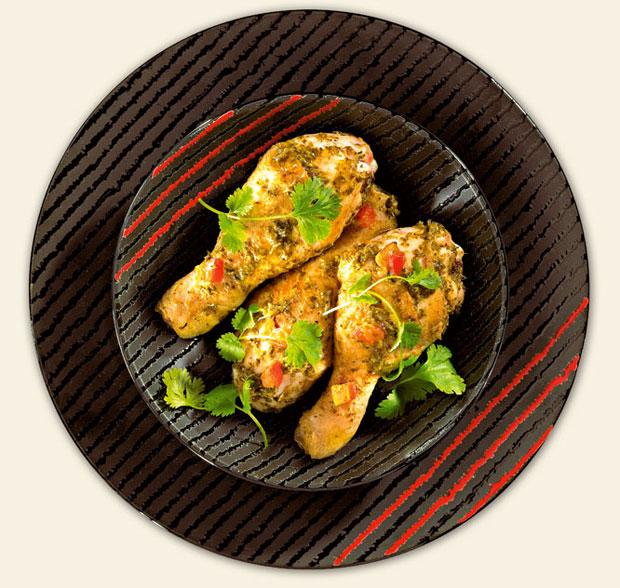 kuchnia, kuchnie świata, Kuchnia: jak hinduskie curry podbiło świat, Kenijskie curry - Dhania - kurczak na zielono