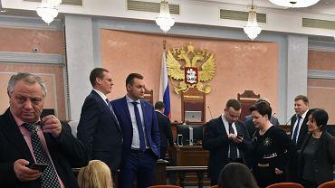 20 kwietnia 2017 r., Moskwa: rozprawa w sądzie najwyższym delegalizująca wspólnotę świadków Jehowy