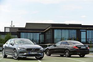 Volvo S90 D4 vs Mercedes E 220d | Konfrontacja | Wyb�r (nie)oczywisty