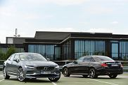 Volvo S90 kontra Mercedes klasy E | Konfrontacja