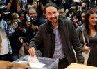 Wybory w Hiszpanii. G�osuje lider Podemos Pablo Iglesias