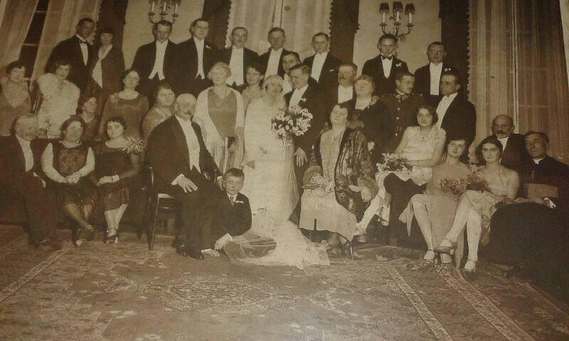 Portret ślubny prababci Zosi (fot. archiwum rodzinne)