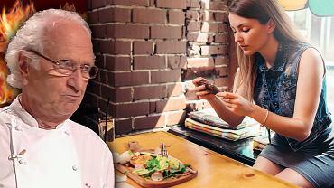 Michel Roux to słynny szef kuchni. Gościnie występował w polskiej edycji Master Chief.