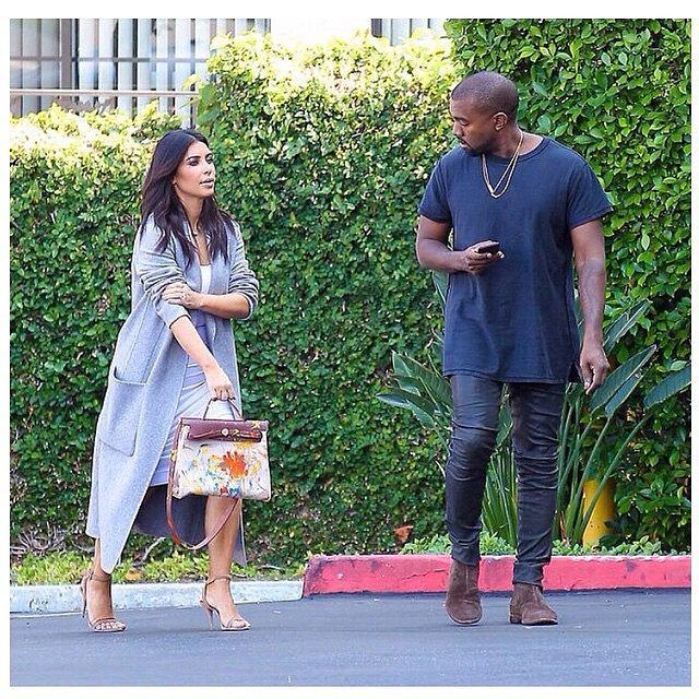 Kim Kardashian z torbą Birkin / instagram/@kimkardashian