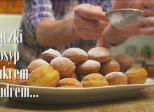 Pączki serowe z polewą czekoladową - ugotuj