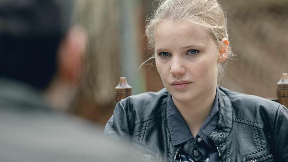 ''Zbrodnia''. Joanna Kulig jako Policjantka Monika Krajewska