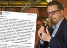 """""""Jeśli Kaczyński próbował nie dopuścić do premiery, to go rozumiem"""". Raczek ostro o """"Smoleńsku"""""""