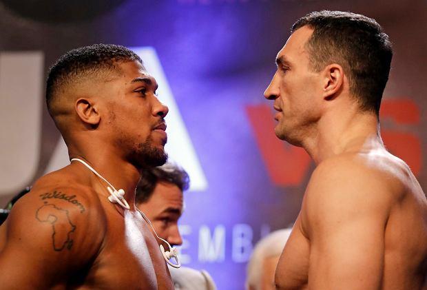 Britain Boxing Joshua Klitschko