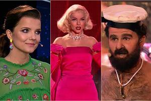 Joanna Jabłczyńska świetnie wcieliła się w postać Marilyn Monroe, ale to Sławomir jako Janusz Rewiński rozbił bank i z miażdżącą przewagą wygrał półfinałowy odcinek. A kogo zobaczymy w finale? Za tydzień zaśpiewają nam Joanna Jabłczyńska, Sławomir,  Zofia Nowakowska i Kasia Popowska.