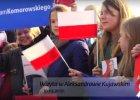 """Komorowski na spotkaniu wyborczym, a na wiecu t�um dzieci. MEN zleca kontrol�. """"Nie powinny by� w szkole?"""""""
