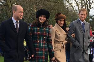 Książę William, księżna Kate, Meghan Markle i książę Harry