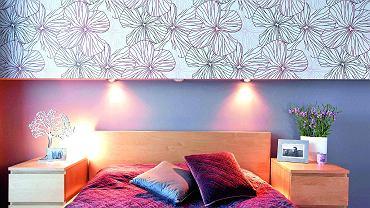 Oczka led  zainstalowane w zabudowie nad łóżkiem z powodzeniem zastąpią tradycyjne lampki nocne. Natężenie światła będzie wystarczające, jeśli na niedużej wysokości umieścimy co najmniej dwie oprawy.