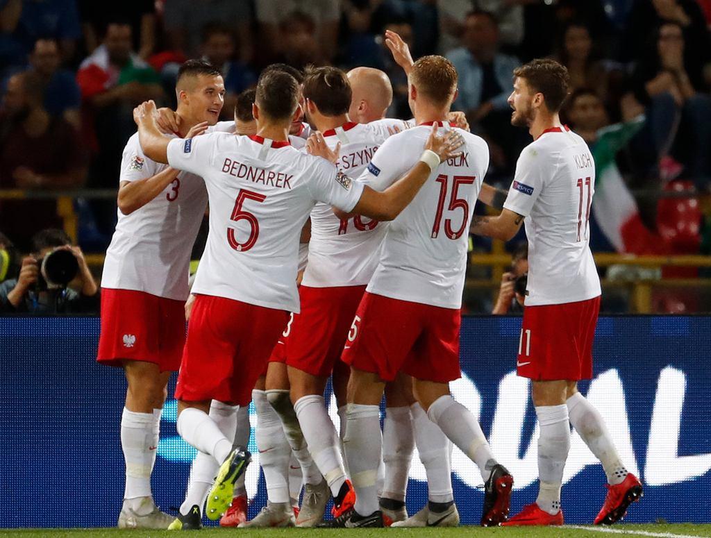 Mecz Ligi Narodów Polska Włochy w Bolonii, 7.09.2018