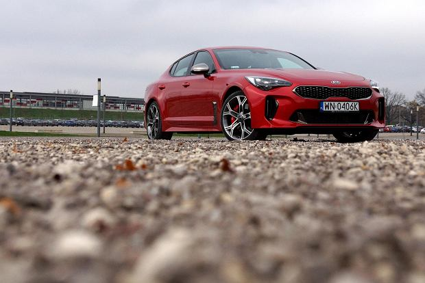 Test Kia Stinger GT