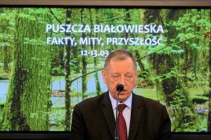 Min. Szyszko chce wykreślenia Puszczy Białowieskiej z listy UNESCO. Resort: nie zamierzamy wnioskować o to