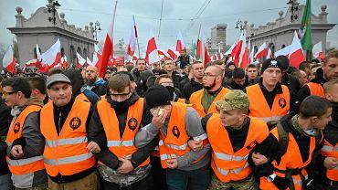 Marsz Niepodległości w 2015 r.